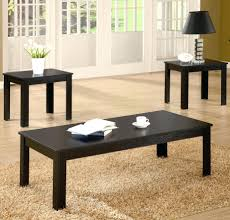coffee tables dazzling piece occasional table set blackcoffee