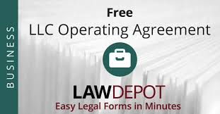 llc operating agreement free llc operating agreement template