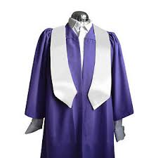 sashes for graduation set of 20 purple choir robes gowns and sashes stoles women men