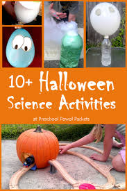 Halloween Science Activities Stem Fun Preschool Powol Packets