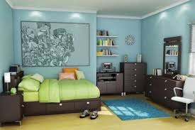 bedroom fresh blue and green teen boy bedroom ideas combined with light blue teen boy bedroom ideas matched with artistic pictures on the wall and light