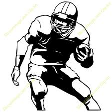football player clipart many interesting cliparts