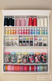 Craft And Sewing Room Ideas - small sewing room ideascreative and space saving craft storage ideas