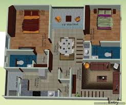 Rectangular House Plans by Charming Rectangular House Plans 2 2 Bhk East Facing Floor Plan