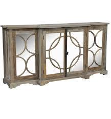 Reclaimed Sideboard Wells Reclaimed Elm Wood Mirrored Sideboard Buffet Zin Home
