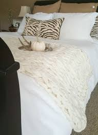 softest affordable sheets chunky knit throw arm knitting is a great affordable option the