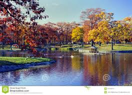 deering oaks park portland maine stock images image 13703474