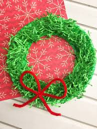 diy paper christmas wreath onion rings u0026 things