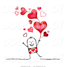 valentines day vector clipart
