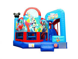 mickey mouse clubhouse bounce house mickey mouse clubhouse 5 in 1 combo channal inflatables