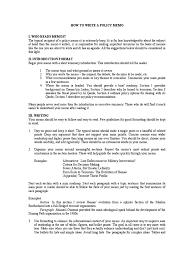 how to write review paper how to write a policy memo memorandum hamas