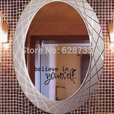 bathroom mirror stickers promotion shop for promotional bathroom