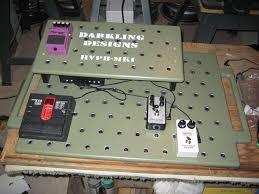 diy holey pedal board ultimate guitar