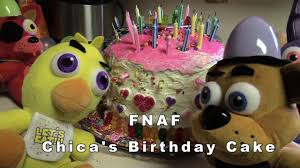 thanksgiving birthday cakes pictures fnaf plush episode 29 chica u0027s birthday cake youtube