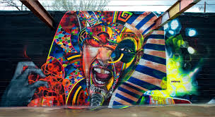 How To Graffiti With Spray Paint - spray paint murals chor boogie