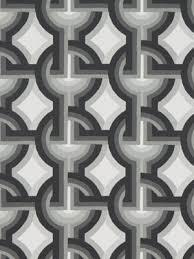 Geometric Drapery Fabric New Modern Interlock Circle Upholstery Drapery Fabric By The Yard