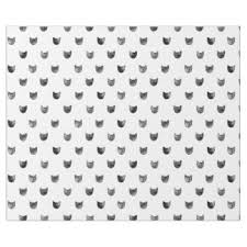 cat wrapping paper cat pattern wrapping paper zazzle