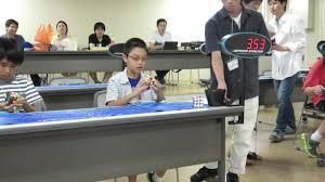 Kid At Desk by Rubik U0027s Cube Amazing Solve Speed Cubing Hawaii Kid At Japan Jrca