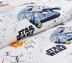 Travel Duvet Cover Star Wars Millennium Falcon Duvet Cover Pottery Barn Kids