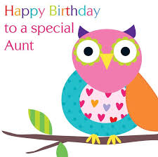 Happy Birthday Owl Meme - happy birthday aunt wishes sms and poems for my aunty