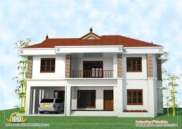 2 floor houses 2 house elevation 2743 sq ft kerala home design and