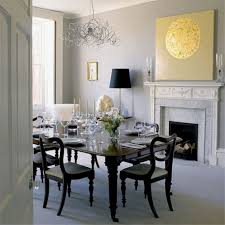 dining room captivating dining space implemented with silver curly