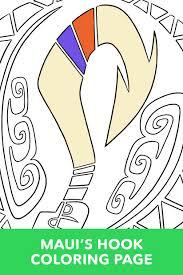 moana coloring disney lol