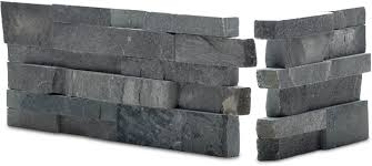 New Stone Veneer Panels For by Charcoal Stacked Stone Veneer Rock Panels For Walls By Norstone