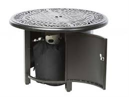 Fire Pit Burner Kits by Alfresco Home Kinsale 36 Round Gas Fire Pit Chat Table With Burner