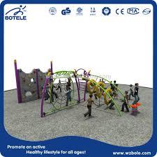 kids outdoor playground equipment rock climbing wall climbing