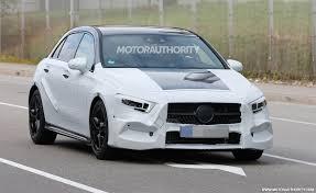 Modified A Class Mercedes 2018 Mercedes Benz A Class Hatchback Spy Shots And Video