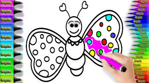 coloring pages butterfly insect drawing pages to color for kids