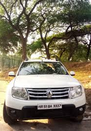renault duster 2014 white used renault duster rxl diesel 85ps in faridabad 2014 model india