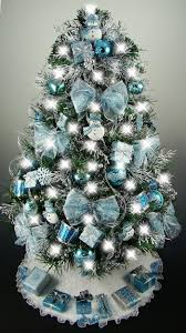 Christmas Decorations Blue Room by Best 25 Blue Christmas Trees Ideas On Pinterest Blue Christmas