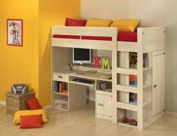 lit enfant avec bureau lit sureleve garcon lit surlev enfant chateau with lit
