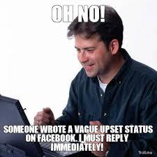 Status Meme - top 6 passive aggressive memes