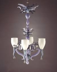Glass Blown Chandeliers by Ring Of Fire Lampworked And Blown Glass Lighting