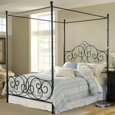black metal canopy bedsartistic beautiful elegant and luxurious