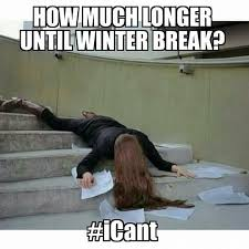 Winter Break Meme - pin by ratemyprofessors on college life pinterest winter