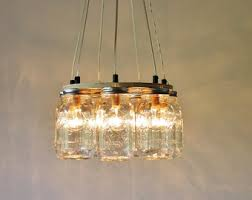 Canning Jar Lights Chandelier Modern Lighting Mason Jar Chandeliers And More By Bootsngus
