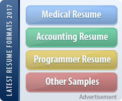 top resume formats combination resume format help resumes 2017