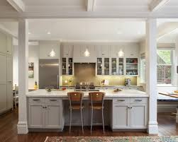 open kitchen with island large open kitchen the interior columns and the