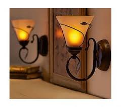 Flameless Candle Wall Sconce Qvc Flameless Wall Sconces The Average Consumer
