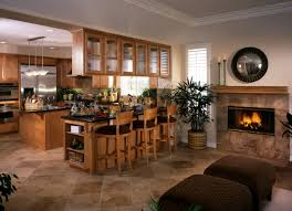Cozy Kitchen Designs Design Cozy Kitchen With Fireplace Stone Fireplace Wood