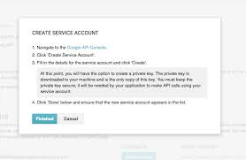 Rent Verification Letter Channel Integrations Set Up The Google Developer Console For The