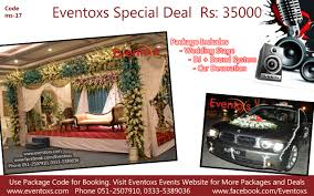 Wedding Packages Prices Wedding Stage Decoration Packages And Prices Islamabad Pakistan