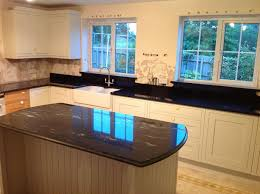 granite countertop fitted kitchen worktops chocolate cake in a