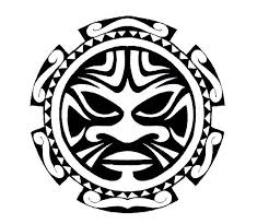 polynesian sun design tattoos 4 flash maori
