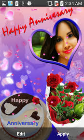 Wedding Wishes Editing Anniversary Photo Frames Android Apps On Google Play
