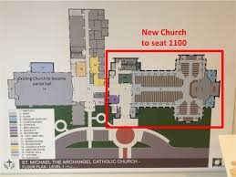 Catholic Church Floor Plans New Mission Church And New Construction At Another Church